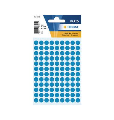 Markierungspunkte 1843 blau Ø 8mm 540 Stück