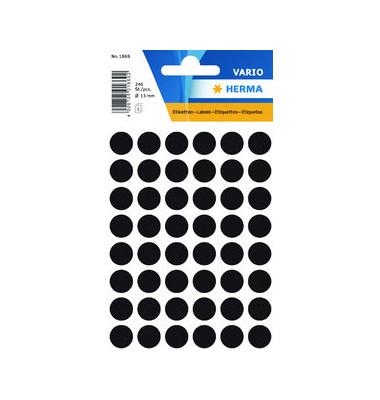 Markierungspunkte 1869 schwarz Ø 12mm 240 Stück