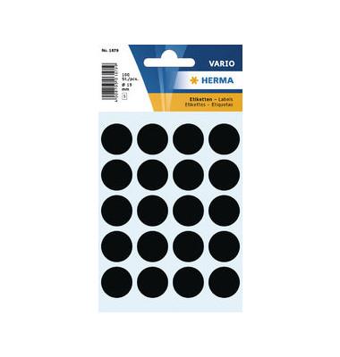 Markierungspunkte 1879 schwarz Ø 19mm 100 Stück