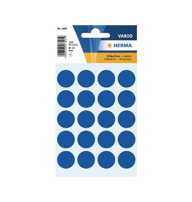 Markierungspunkte 1883 dunkelblau Ø 19mm 100 Stück
