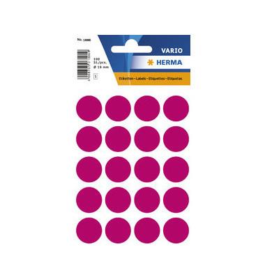 Markierungspunkte 1886 pink Ø 19mm 100 Stück