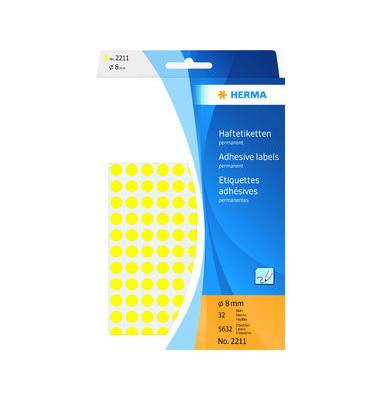 Markierungspunkte 2211 gelb Ø 8mm 5632 Stück