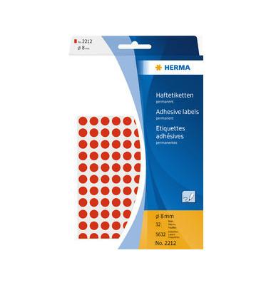 Markierungspunkte 2212 rot Ø 8mm 5632 Stück