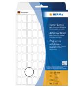 Haftetiketten 2330 10 x 16 mm weiß 2592 Stück