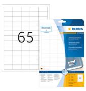 Etiketten 4212 38,1 x 21,2 mm weiß 1625 Stück Special ablösbar