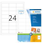 Etiketten 4262 64,6 x 33,8 mm weiß 2400 Stück Premium