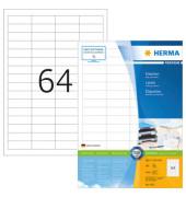Etiketten 4271 48,3 x 16,9 mm weiß 6400 Stück