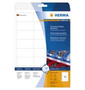 Etiketten 4691 66 x 33,8 mm weiß Folie 600 Stück strapazierfähig wetterfest