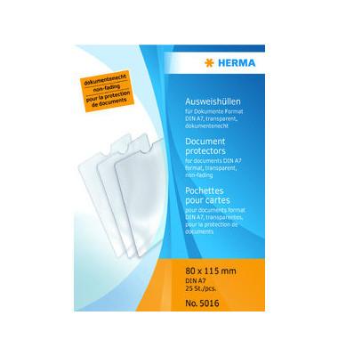 5016 Ausweishüllen A7 transparent 80x115mm