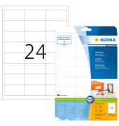 Etiketten 5053 66 x 33,8 mm weiß 600 Stück Premium