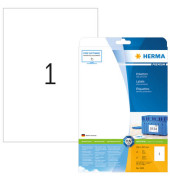 Etiketten 5065 210 x 297 mm weiß 25 Stück Premium