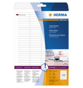 Dias Etiketten 5071 43,2 x 8,5 mm weiß 3200 Stück