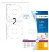 CD Etiketten 5079 Ø 116 mm weiß 50 Stück