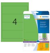 Ordneretiketten 5099 61 x 192 mm grün zum aufkleben 80 Stück