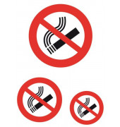 5736 Hinweisetiketten Nicht rauchen wetterfest