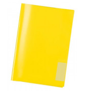 Heftschoner 7481 A5 Folie transparent gelb