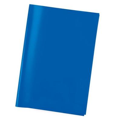 Heftschoner 7483 transparent blau A5