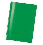 Heftschoner 7485 A5 Folie transparent dunkelgrün