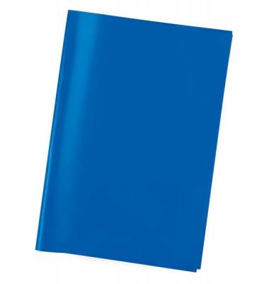 Heftschoner 7493 transparent blau A4