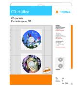 CD/DVD-Hüllen PP-Folie transparent 230x300mm 10 Stück