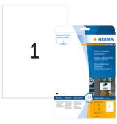 Etiketten 9500 210 x 297 mm weiß 10 Stück Outdoor Klebefolie