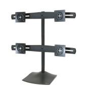 Monitor Stand DS100 Quad schwarz bis 61cm 2x2