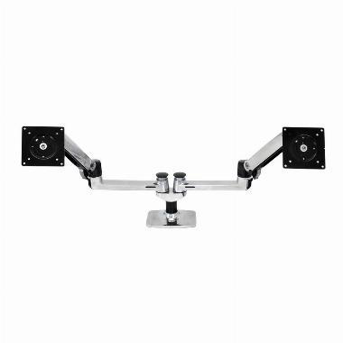 Monitor LX Arm dual schwarz b.27 Zoll max.18kg