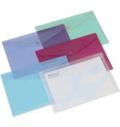 Aktentaschen Carry Folder A4 farblich sortiert 5 St
