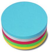 Moderationskarten Kreis Papier sortiert 9,5cm Durchm 250 St