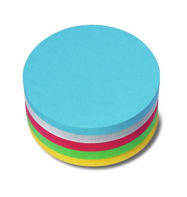 Moderationskarten Kreise Ø 9,5cm farbig sortiert 250 Stück