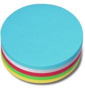 Moderationskarten Kreis Papier sortiert 14cm Durchm 250 St