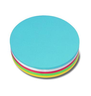 Moderationskarten Kreis Papier sortiert 19cm Durchm 250 St