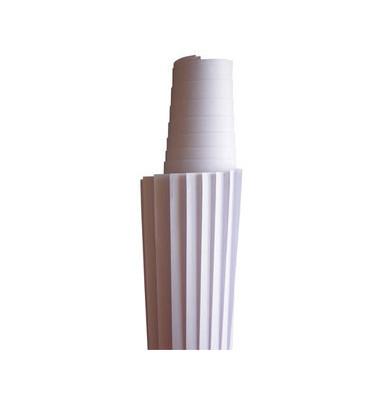 Moderationspapier blanko weiß 118x140cm 50 Blatt
