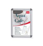 Klapprahmen Aluminium A1 für Innen- und Außenbereich silber