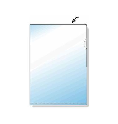 Sichthüllen Top Quality 21780090, A4, farblos, klar-transparent, glatt, 0,135mm, oben & rechts offen, PP