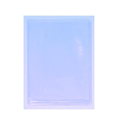 Ausweishüllen oben offen glasklar A7 74x105mm 25 Stück