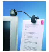 Konzepthalter Flex Clip schwarz 260x133x35mm A4