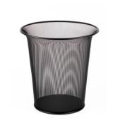 Drahtpapierkorb 15 Liter schwarz