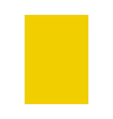 Tonzeichenpapier 50x70cm sonnengelb 204711210 130g 25 Bogen