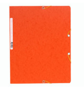 Eckspannmappe 5564E A4 400g orange
