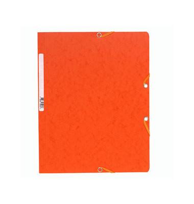 Eckspannmappe 5564E A4 400g orange