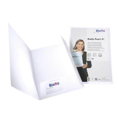 Angebots- und Präsentationsmappe PEARL 1, 22,5x31,5cm mit Sichttasche