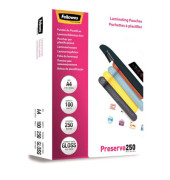5401802 Preserve250 Laminierfolien A4 2 x 250 mic glänzend 100 Stück