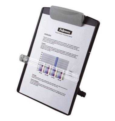 Konzepthalter DesKartonop für A4 graphit verstellbar