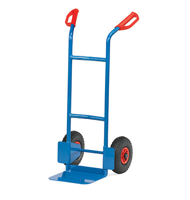 Sackkarre B1125L tragfähig bis 200kg blau 32x25cm Stahl