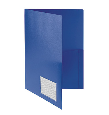 Angebotsmappe blau 305 x 225 x 0 mm (HxBxT) ohne Verschluss