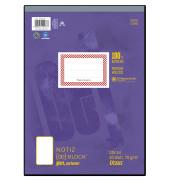 Block Deckblatt glatt 70g 1/3 A4 48 Bl