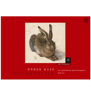Zeichenblock Dürer Hase 100g A3 18 Bl