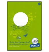 Schulheft green Schularbeiten FX-SA1 A4 liniert mit Rand weiß 20 Blatt