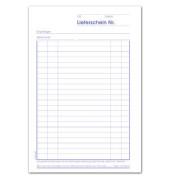 Lieferscheinbuch LI543SD A5 hoch 3x40 Bl
